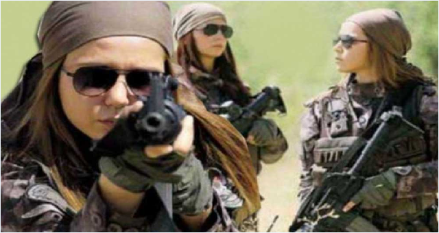 Türk Polis Teşkilatı'nın gururu Özel Harekatın kadın polisleri