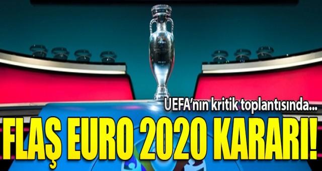 EURO 2020 ertelendi! Şampiyonlar Ligi ise...