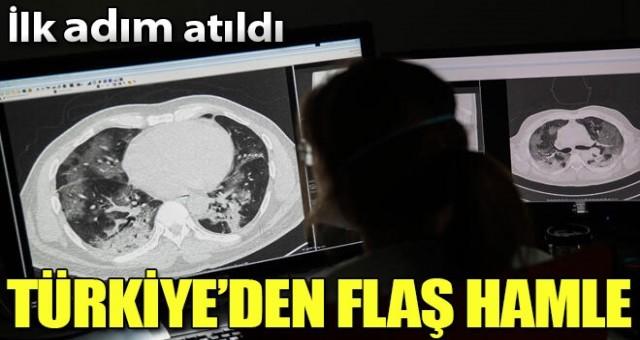 Türkiye'de aşı için ilk adım atıldı