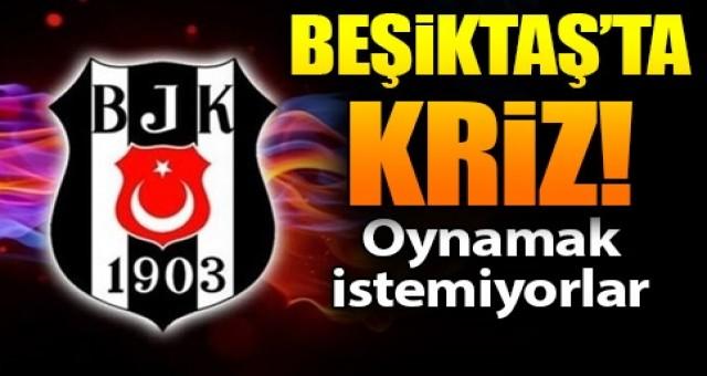 Beşiktaş'ta kriz! Son 8 maça çıkmama kararı aldı