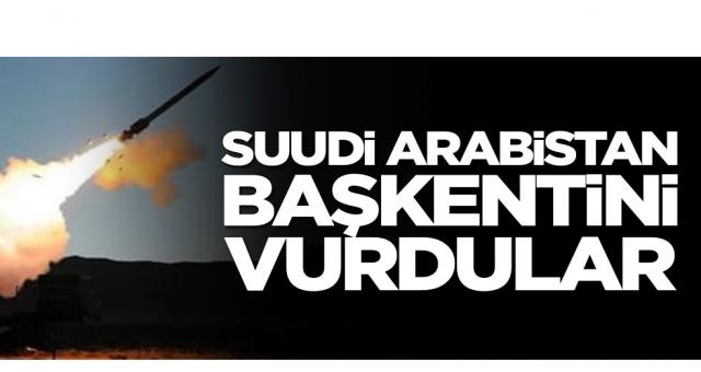 Suudi Arabistan başkentini vurdular