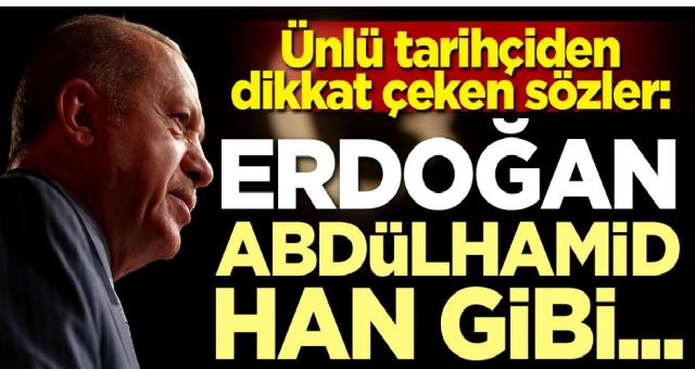 Ünlü tarihçiden dikkat çeken sözler: Erdoğan Abdülhamid Han gibi...