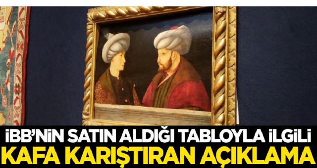 İBB'nin satın aldığı tabloyla ilgili Murat Bardakçı'dan kafa karıştıran açıklama