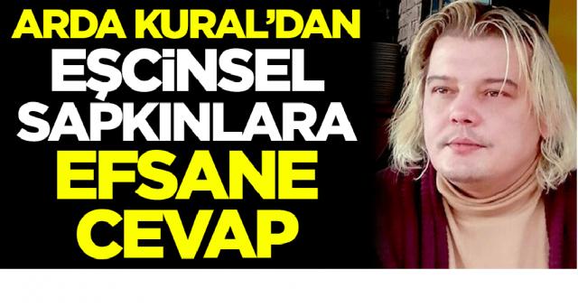 Hülya avşar'ı madara eden Arda KURAL bu seferde eşcinselleri savunanlara kapak yaptı