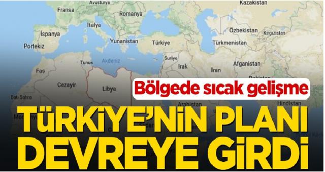 Türkiye'nin planı devreye girdi