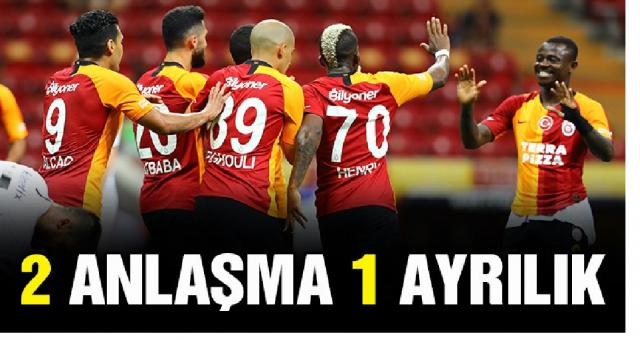 Galatasaray'da Donk ve Seri ile yola devam