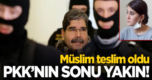 PYD/PKK elebaşı'nin yeğeninin teslim olmasından sonra örgüt bitme aşamasına geldi