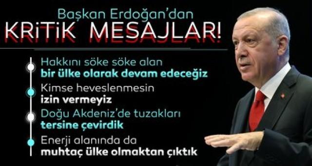 Son dakika: Başkan Recep Tayyip Erdoğan'dan flaş açıklamalar