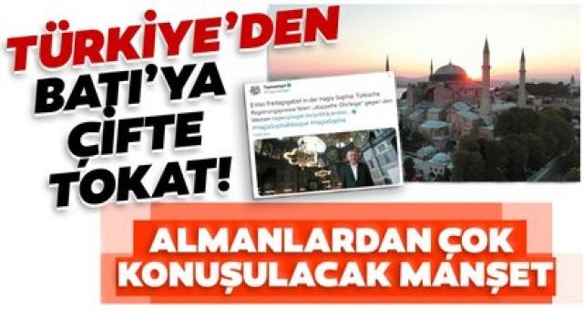 Almanlardan acı itiraf: Türkiye Batıyı şamar oğlanı'na cevirdi