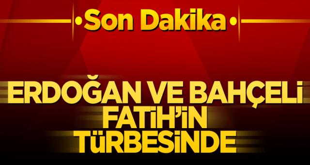 Başkan Erdoğan ve Devlet Bahçeli'den ATA ziyareti