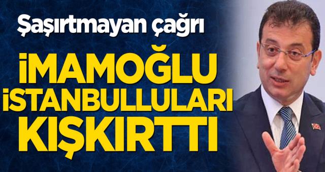 İkinci Selahattin Demirtaş vakası. Ekrem İmamoğlu İstanbullulara ayaklanma çağrısı yaptı.