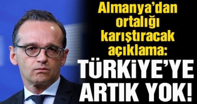 Almanya'dan Türkiye'ye ambargo
