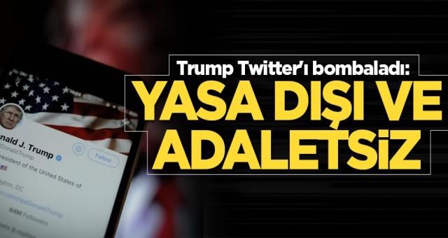 Trump'tan Twitter'a Patriot füzesi geldi