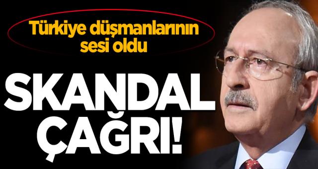 Kemal Kılıçdaroğlu ABD'nin sözcülüğüne atandi