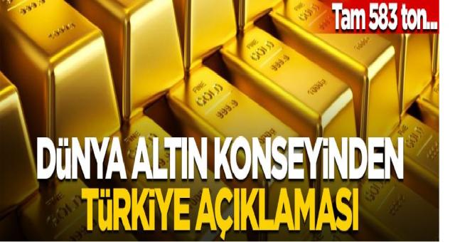 Dünya Altın Konseyi açıkladı Türkiye'de ne kadar Altın rezervi var