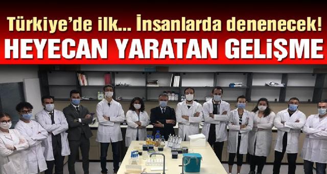 Türk doktorlardan aşı müjdesi yıl sonuna hazır hale gelir