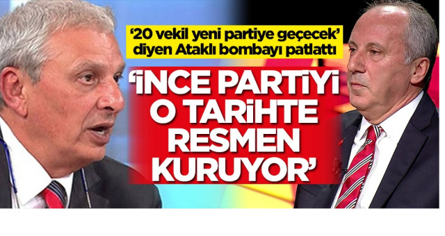 Kendi Yandaş Gazetecileri Açıkladı Muharrem İnce O tarihte Parti kuracak
