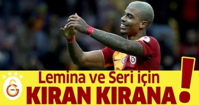 Galatasaray'da Lemina ve Seri için kıran kırana pazarlık