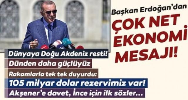 Cumhurbaşkanı Erdoğan Cuma çıkışında halka seslendi çok net ve kararlı mesajlar verdi