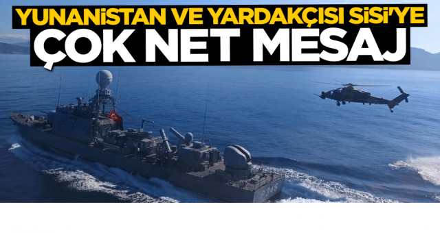 Ersin Tatar'dan Yunanistan ve yardakçısı Sisi'ye çok net mesaj: Türkiye Doğu Akdeniz'deki tüm oyunları bozabilecek kapasitede