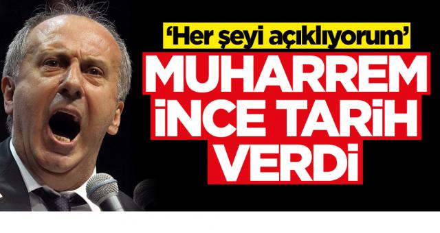 Muharrem İnce: Haftaya CHP'nin içindeki Hainleri Açıklayacağım dedi Savaşın fitilini ateşledi