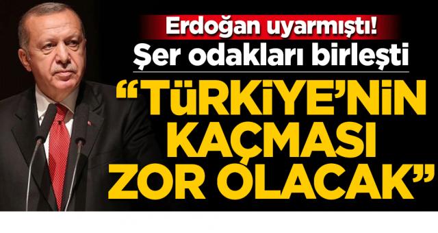 Erdoğan uyarmıştı! Şer odakları birleşti: