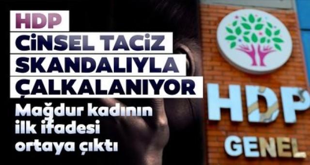 HDP'li Tuna Çelik'in tecavüzüne uğrayan kadın HDP'liler susmam için beni tehdit etti