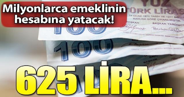 Emekli ve Yeni Emekli olacak büyük müjde 625 lira promosyon verilecek