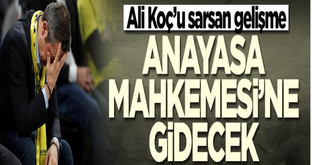 Tahkim'den Fenerbahçe'ye kötü haber! Ali Koç kararını verdi