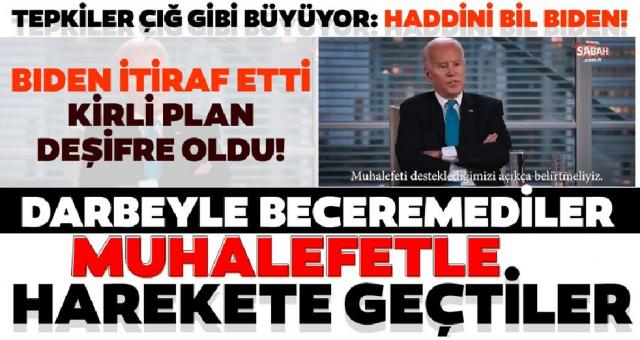 Erdoğan'ı devirmek için CHP ve PKK ile birlikte olmalıyız
