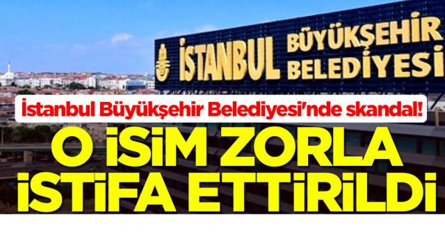 İstanbul Büyükşehir Belediyesi'nde skandal! Hasan Bülent Kahraman istifa ettirildi