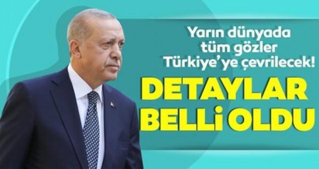 Son dakika: Başkan Erdoğan'ın müjdeyi yarın saat kaçta açıklayacağı belli oldu