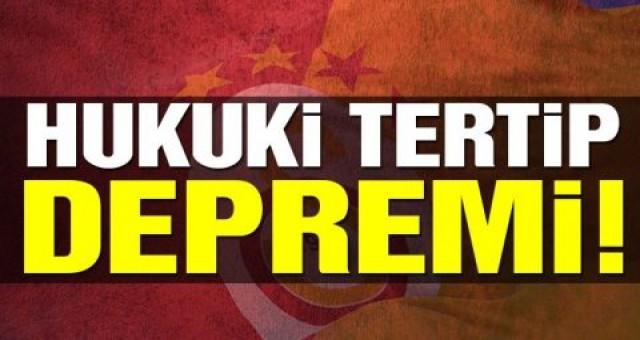 Galatasaray'da deprem Konu yargıya taşındı