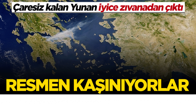 Yunanistan iyice zıvanadan çıktı! Resmen kaşınıyorlar