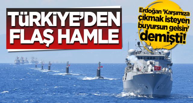 Türkiye'den Doğu Akdeniz için yeni hamle