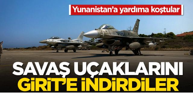 BAE'den küstah adım! Türkiye'ye karşı Girit'e savaş uçaklarını indirdiler