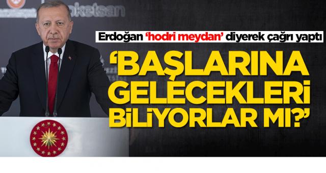 Başkan Erdoğan: Başlarına gelecekleri biliyorlar mı?