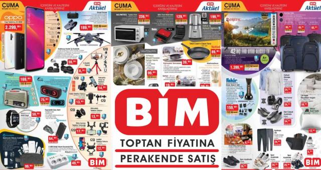 4 Eylül BİM Marketleri Aktüel Ürünler Kataloğu Yayınlandı! Elektronik, Züccaciye, Tekstil Ve Mutfak Ürünlerinde Büyük İndirim!