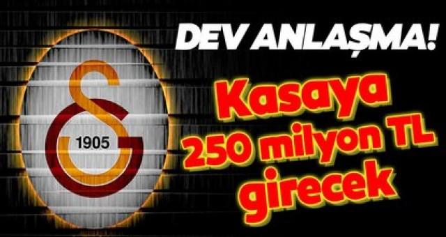 Galatasaray'ın kasasına 250 milyon TL girecek
