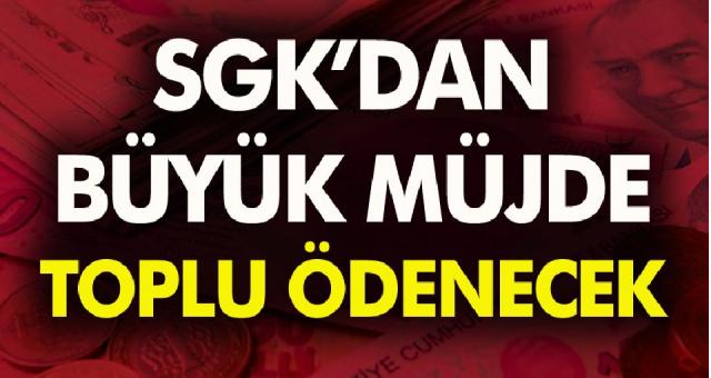 SGK Emekli – Memur ve İşçiler için toplu para iadesi yapacak! Hemen başvuru yaparak paranızı alabilirsiniz…