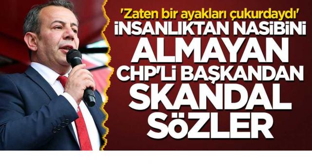 Yüce Türk milleti ölenler için zaten bir ayakları çukrdaydı diyen CHP zihniyetine hala oy mu vereceksiniz?