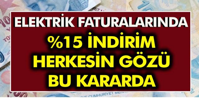 Elektrik faturalarında  indirim! Herkesin gözü bu kararda! TRT Payının kaldırılması için kanun teklifi sunuldu…