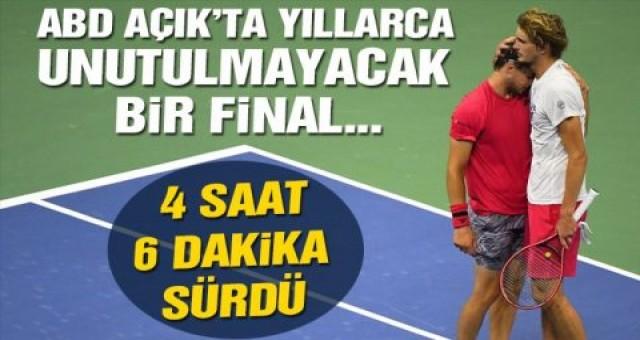 Amerika Açık şampiyonu Dominic Thiem