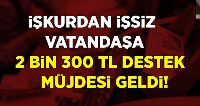 İŞKUR'dan İşkerdan İşsiz Vatandaşa 2 Bin 300 Lira Destek Müjdesi Geldi! Bu Destek İçin Başvuru Şartları Ve Detaylar?