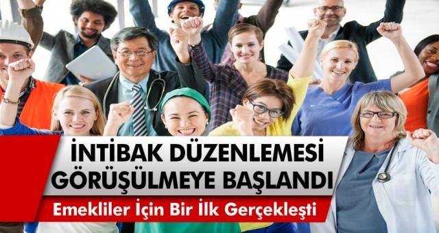 İntibak Yasasında Son Dakika Gelişmesi… Emekliler için bir ilk gelişti! İntibak düzenlemesi Tayyip Erdoğan ile görüşülüyor! İntibak Yasasında Son Durum…