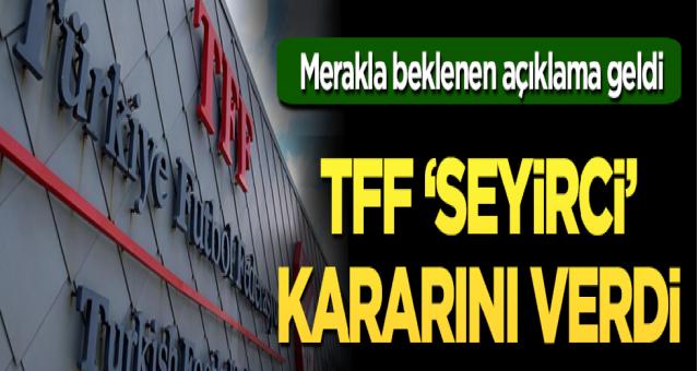 TFF: Süper Lig ve Türkiye Kupası'nda locaların yüzde 50'si kadar seyirci alınacak