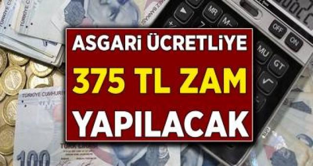 Asgari Ücretli Büyük Müjde Verildi! 375 TL Zam Yapılacak! Ödeme Tarihi Kesinleşti…