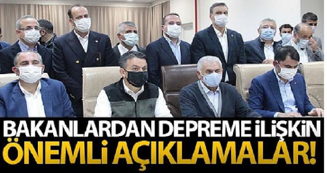 Adalet Bakanı Abdülhamit Gül, İzmir'deki Depreme İlişkin Konuştu