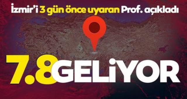 SON DAKİKA HABERLER: İzmir depremi için uyaran uzman isim kritik şehirleri açıkladı! 7.8 büyüklüğünde deprem geliyor... Deprem çalışmalarıyla ilgili son dakika haberi...