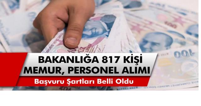 Aile Çalışma ve Sosyal Bakanlığı 817 Kişi Personel ve Memur  Alacağını Duyurdu! İnternet Üzerinden Hemen Başvuru Yapabilirsiniz…